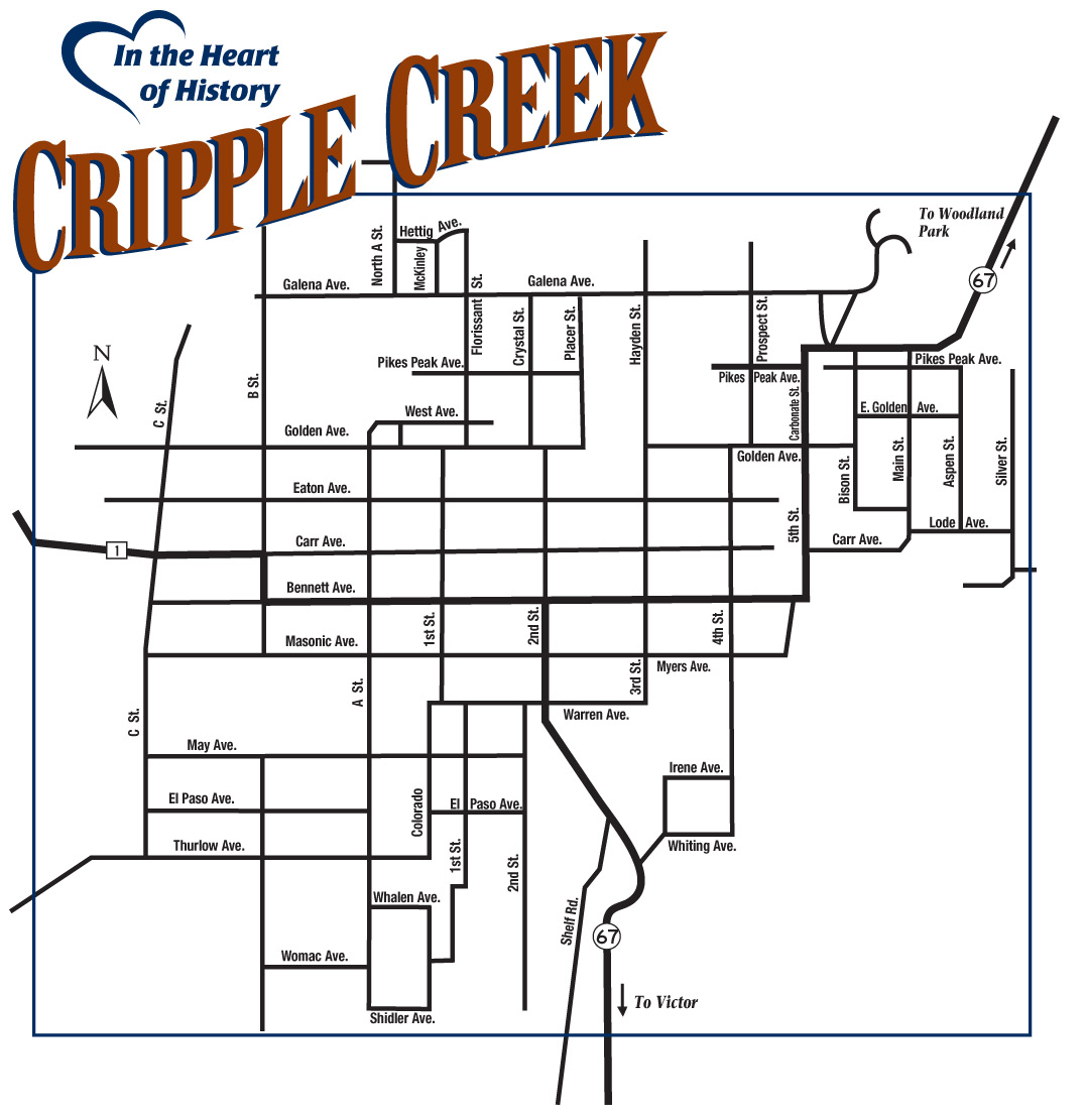 Maps - City of Cripple Creek, Colorado